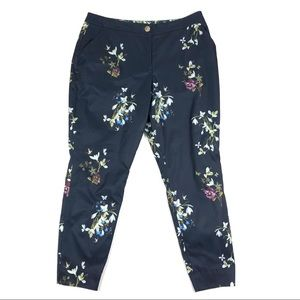 Ted Baker Elopia Floral Tapered Satin Trousers